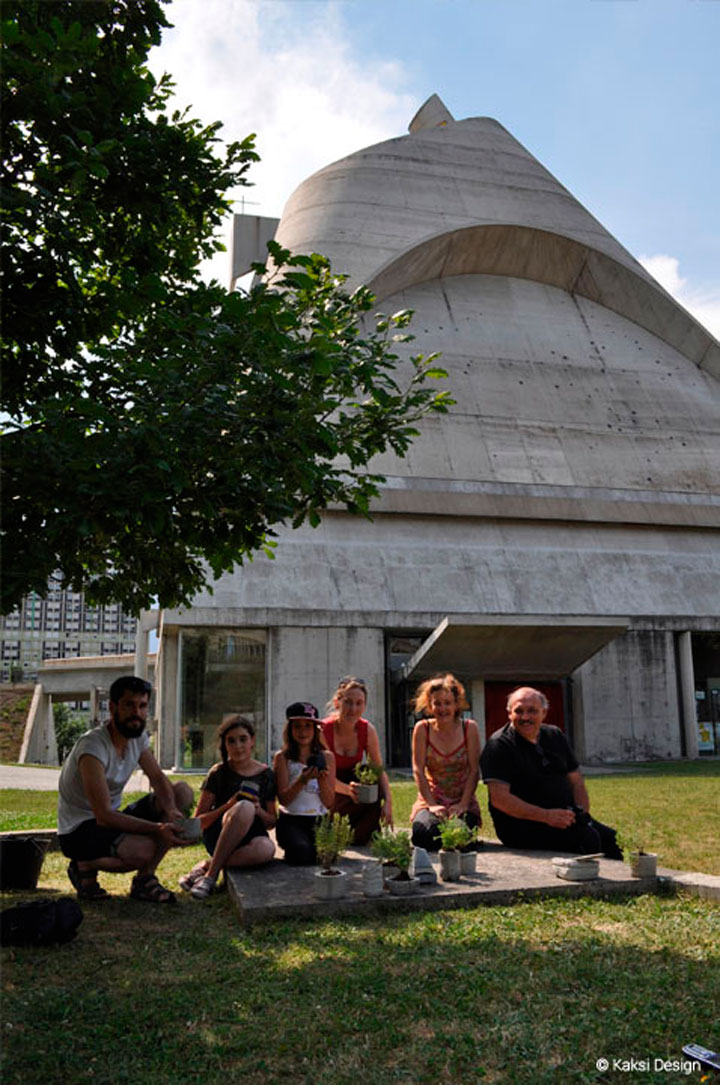 Atelier design et jardin site Le Corbusier