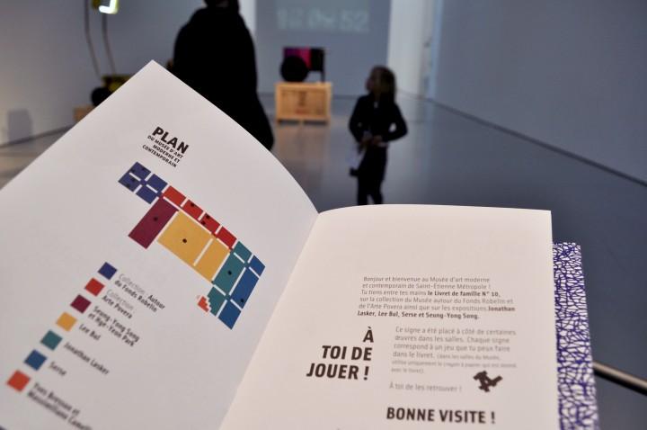 Livret de visite des famille – Musée d'Art Moderne et Contemporain
