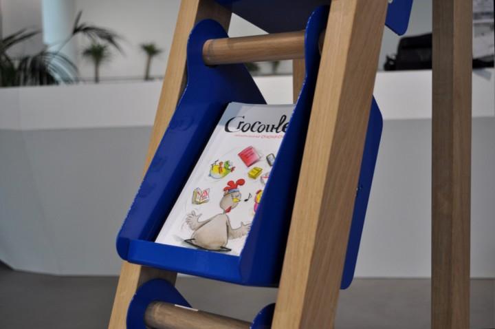 Présentoir Magazine Crocoule