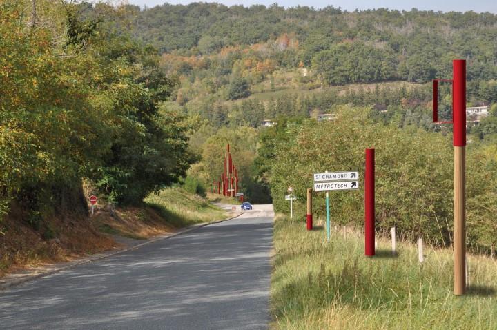 Porte d'entrée Métrotech